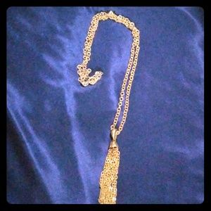 Sarah Coventry Layering Tassle Necklace VINTAGE